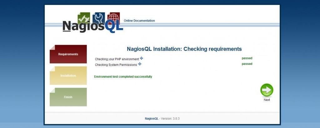 図2:NagiosQL3インストール画面2
