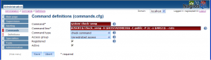 図1:check_snmpのコマンド設定